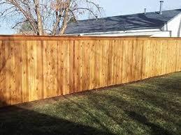 Cedar Wood Fencing Installation El Paso